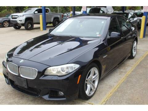 2013 BMW 5 Series for sale at Inline Auto Sales in Fuquay Varina NC