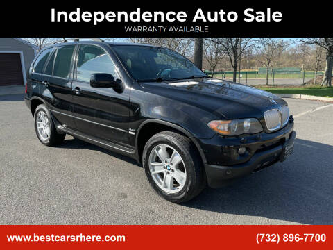 2006 BMW X5 for sale at Independence Auto Sale in Bordentown NJ