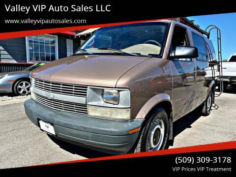 1998 Chevrolet Astro Cargo for sale at Valley VIP Auto Sales LLC in Spokane Valley WA