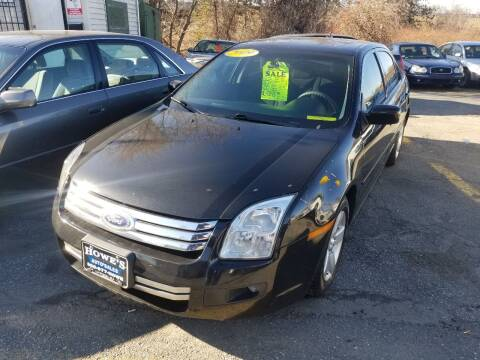 2009 Ford Fusion for sale at Howe's Auto Sales in Lowell MA