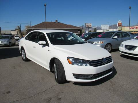 2015 Volkswagen Passat for sale at Crown Auto in South Salt Lake City UT