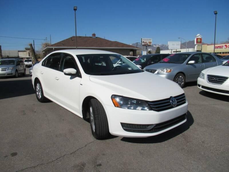 2015 Volkswagen Passat for sale at Crown Auto in South Salt Lake City UT