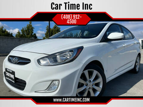 2013 Hyundai Accent for sale at Car Time Inc in San Jose CA