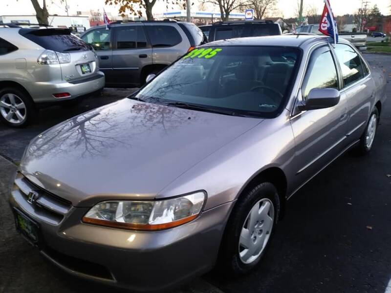 2000 Honda Accord for sale at Oak Hill Auto Sales of Wooster, LLC in Wooster OH