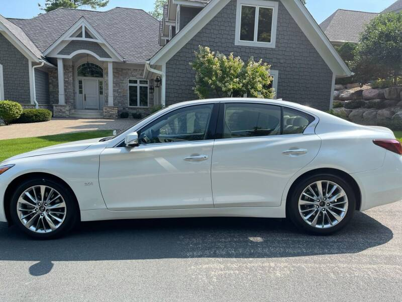 2019 Infiniti Q50 for sale at You Win Auto in Burnsville MN