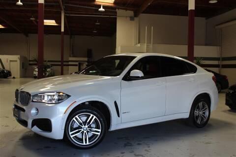 2018 BMW X6 for sale at SELECT MOTORS in San Mateo CA