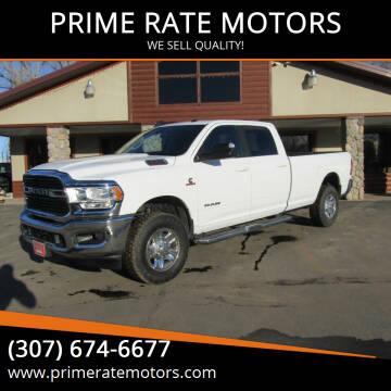 2020 RAM Ram Pickup 3500 for sale at PRIME RATE MOTORS in Sheridan WY