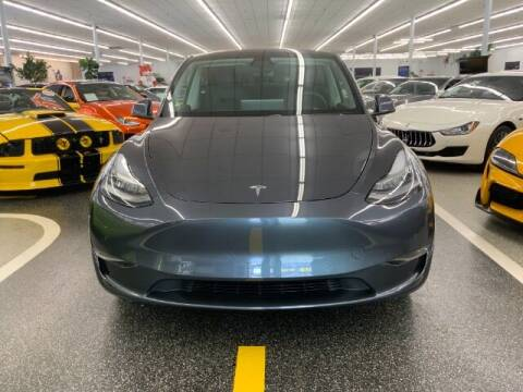 2021 Tesla Model Y for sale at Dixie Motors in Fairfield OH