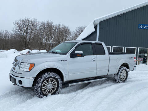 2011 Ford F-150 for sale at Riverside Motors in Glenfield NY