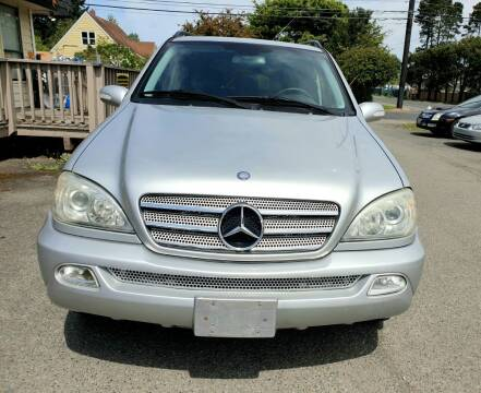 2003 Mercedes-Benz M-Class for sale at Life Auto Sales in Tacoma WA