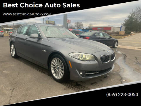 2013 BMW 5 Series for sale at Best Choice Auto Sales in Lexington KY