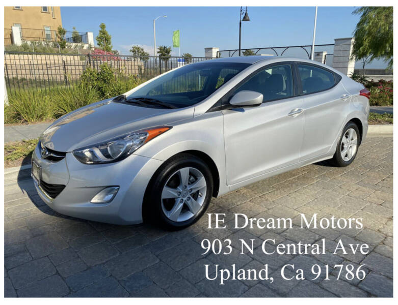 2012 Hyundai Elantra for sale at IE Dream Motors-Upland in Upland CA