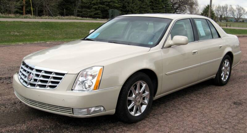 2011 Cadillac DTS for sale at Rapp Motors in Marion SD