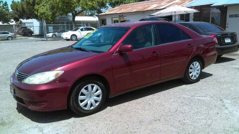 2005 Toyota Camry for sale at Larry's Auto Sales Inc. in Fresno CA