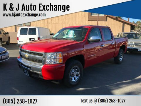 2011 Chevrolet Silverado 1500 for sale at K & J Auto Exchange in Santa Paula CA