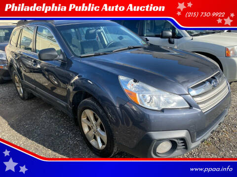 2014 Subaru Outback for sale at Philadelphia Public Auto Auction in Philadelphia PA