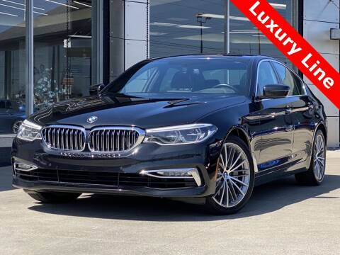 2017 BMW 5 Series for sale at Carmel Motors in Indianapolis IN