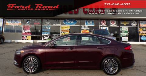 2017 Ford Fusion for sale at Ford Road Motor Sales in Dearborn MI