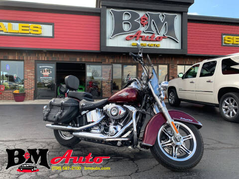 2014 Harley-Davidson Heritage Soft Tail for sale at B & M Auto Sales Inc. in Oak Forest IL
