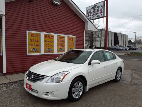 2010 Nissan Altima for sale at Mack's Autoworld in Toledo OH