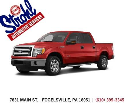 2012 Ford F-150 for sale at Strohl Automotive Services in Fogelsville PA