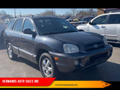 2006 Hyundai Santa Fe for sale at HERMANOS AUTO SALES INC in Hamilton OH