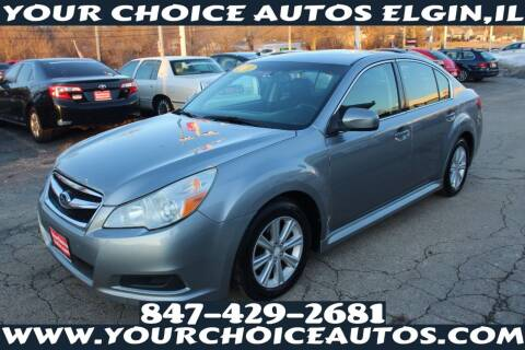 2011 Subaru Legacy for sale at Your Choice Autos - Elgin in Elgin IL