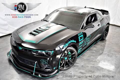 2015 Chevrolet Camaro for sale at ZONE MOTORS in Addison IL