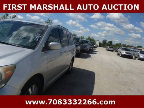 2008 Honda Odyssey for sale at First Marshall Auto Auction in Harvey IL