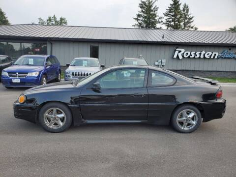 2000 Pontiac Grand Am for sale at ROSSTEN AUTO SALES in Grand Forks ND