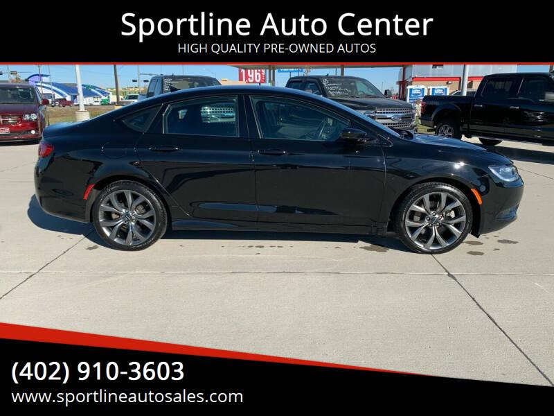 2016 Chrysler 200 for sale at Sportline Auto Center in Columbus NE