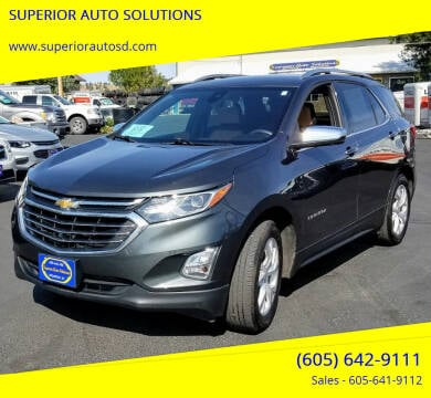 2019 Chevrolet Equinox for sale at SUPERIOR AUTO SOLUTIONS in Spearfish SD