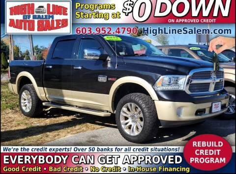 2015 RAM Ram Pickup 1500 for sale at High Line Auto Sales of Salem in Salem NH