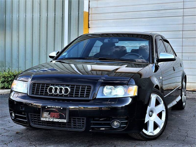 2005 Audi S4 for sale at Haus of Imports in Lemont IL