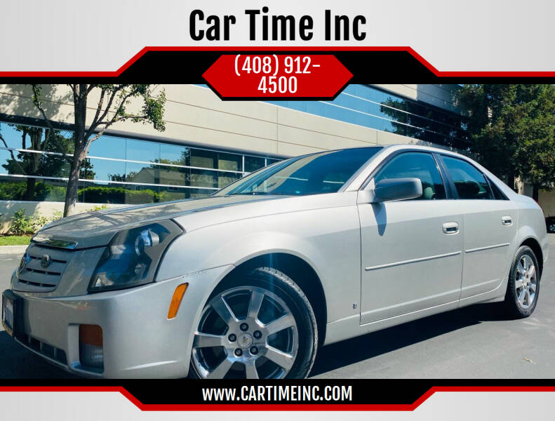 2007 Cadillac CTS for sale at Car Time Inc in San Jose CA