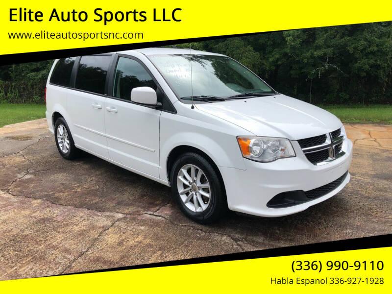 2014 Dodge Grand Caravan for sale at Elite Auto Sports LLC in Wilkesboro NC