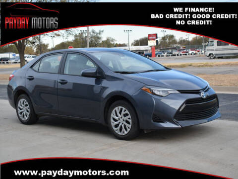 2018 Toyota Corolla for sale at Payday Motors in Wichita And Topeka KS
