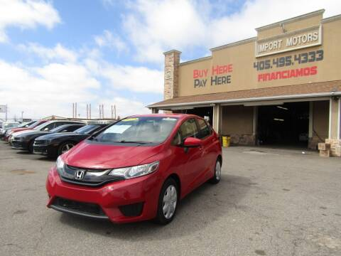 2017 Honda Fit for sale at Import Motors in Bethany OK