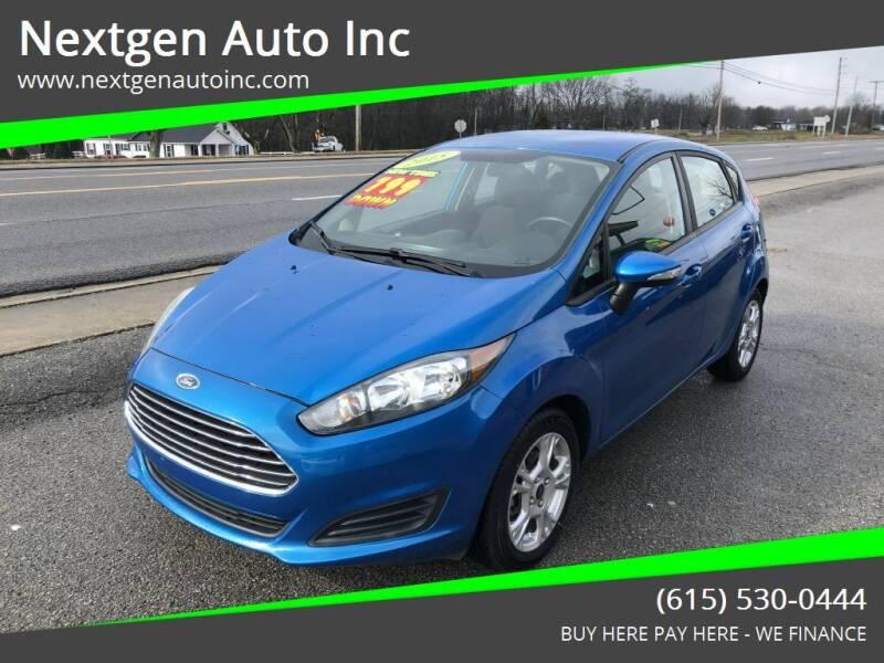 2015 Ford Fiesta for sale at Nextgen Auto Inc in Smithville TN