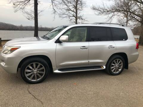 2011 Lexus LX 570 for sale at Monroe Auto's, LLC in Parsons TN