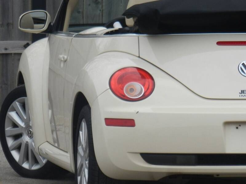 2008 Volkswagen New Beetle Convertible for sale at Moto Zone Inc in Melrose Park IL