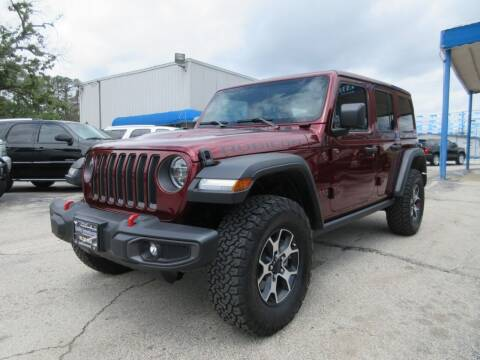 2021 Jeep Wrangler Unlimited for sale at Quality Investments in Tyler TX