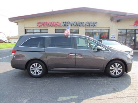 2016 Honda Odyssey for sale at Cardinal Motors in Fairfield OH