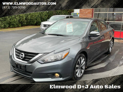 2017 Nissan Altima for sale at Elmwood D+J Auto Sales in Agawam MA