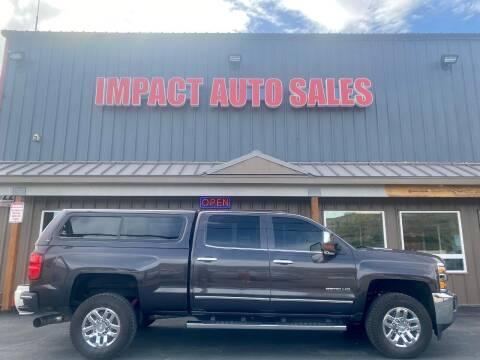 2016 Chevrolet Silverado 2500HD for sale at Impact Auto Sales in Wenatchee WA