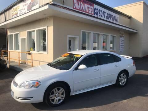 2012 Chevrolet Impala for sale at Suarez Auto Sales in Port Huron MI