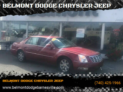 2006 Cadillac DTS for sale at BELMONT DODGE CHRYSLER JEEP in Barnesville OH