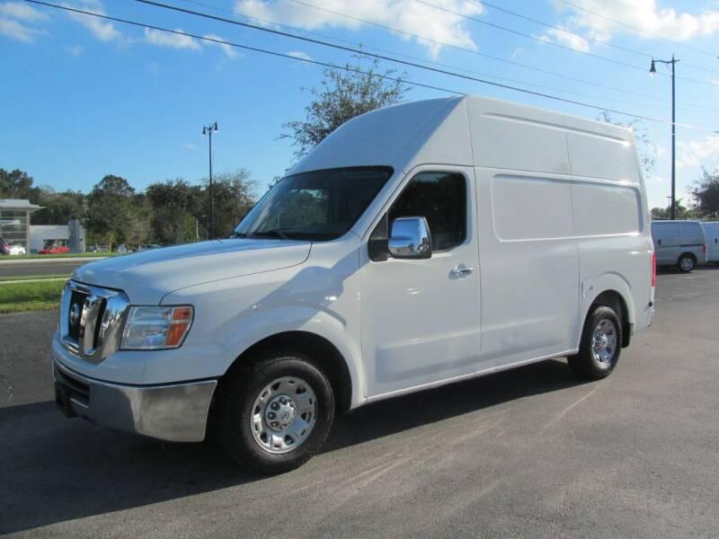 2012 Nissan NV Cargo for sale at Blue Book Cars in Sanford FL