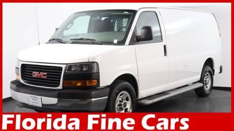 2018 GMC Savana Cargo for sale at Florida Fine Cars - West Palm Beach in West Palm Beach FL