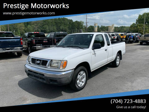 2000 Nissan Frontier for sale at Prestige Motorworks in Concord NC